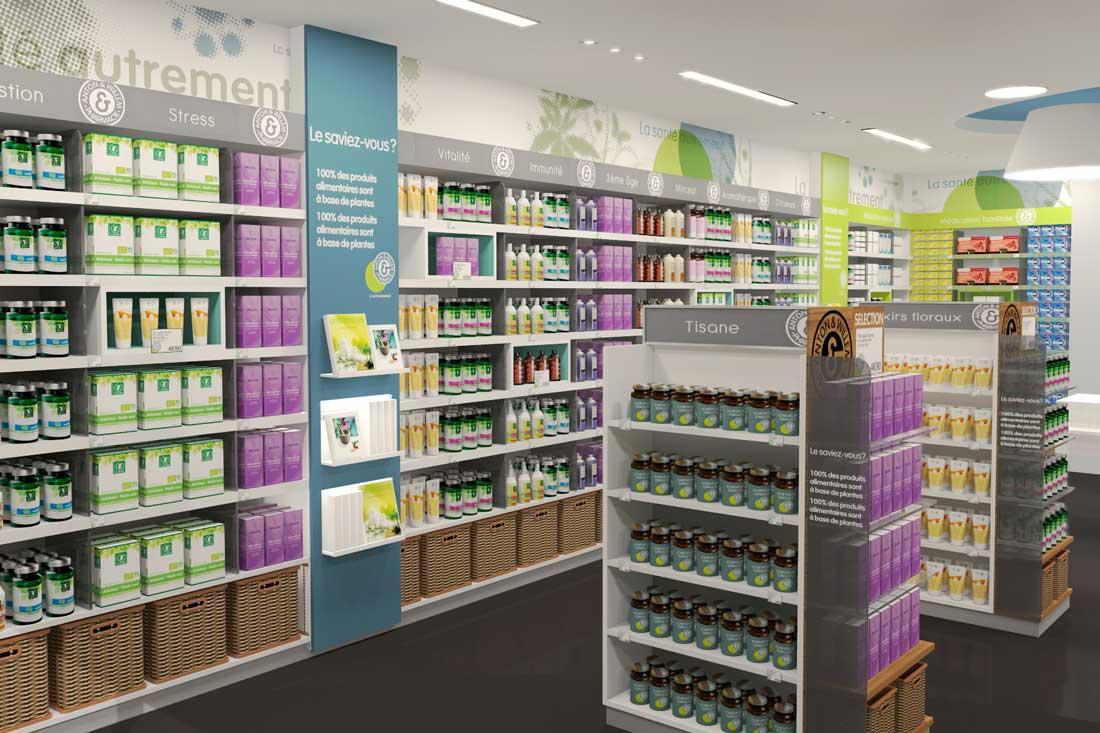 3D retail : pharmacie Anton & Willem