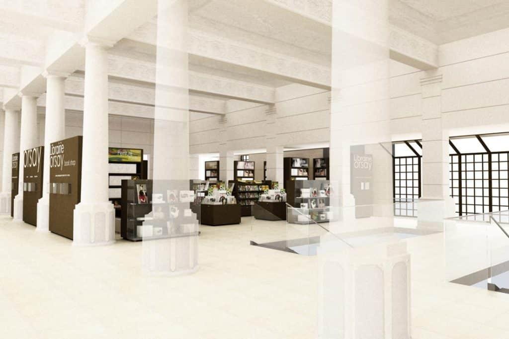 Aménagement 3D du musée d'Orsay