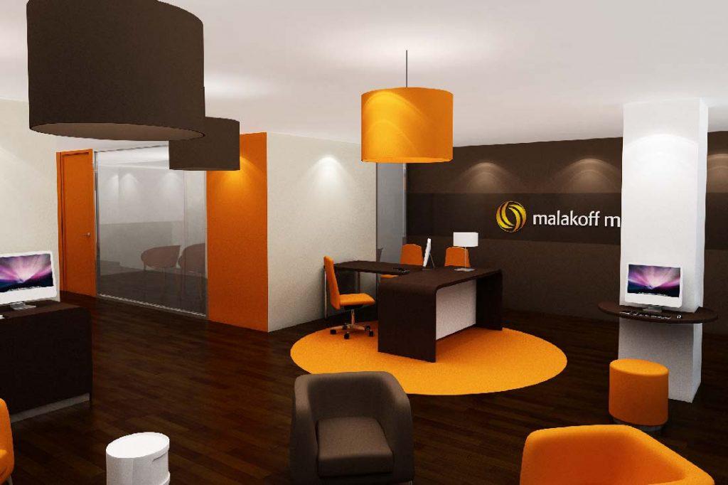 Image 3D du concept pour Malakoff Médéric