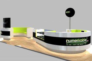 Image 3D stand Numéricable