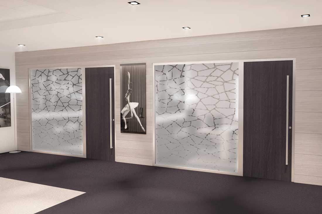 Images 3D architecture commerciale banque privée Bred