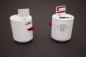 Modélisation et rendu 3D d'un meuble d'accueil