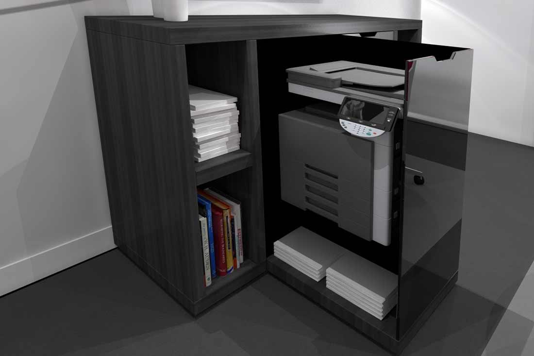 Modélisation 3D d'un meuble d'entreprise