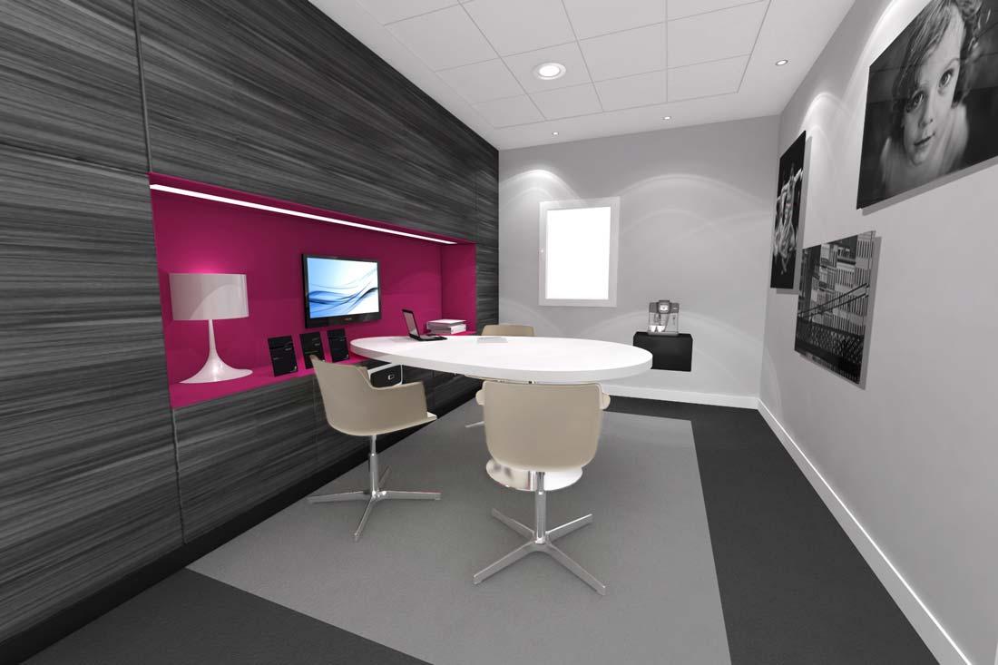 Perspective 3D branding Banque Populaire Gestion Privée