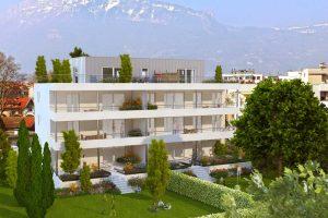 Perspective 3D pour promotion immobilière