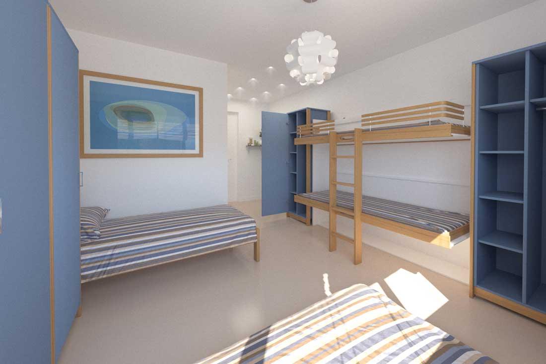 Rendu 3D aménagement chambre