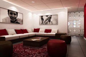 Vue 3D architecture commerciale de la Banque d'Algérie