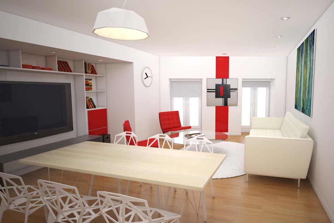 Image 3D pour promotion immobilière