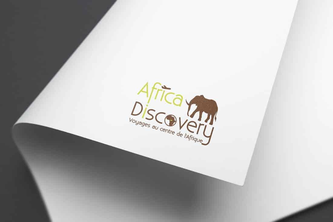 Création du logo de l'agence de voyage Africa Discovery