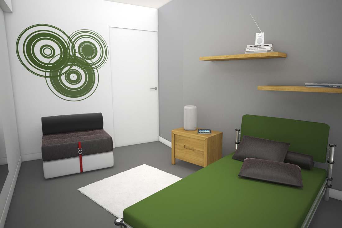 Modélisation 3D et aménagement d'une chambre