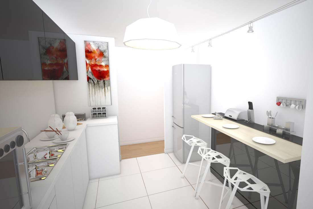 Promotion immobilière : aménagement 3D appartement