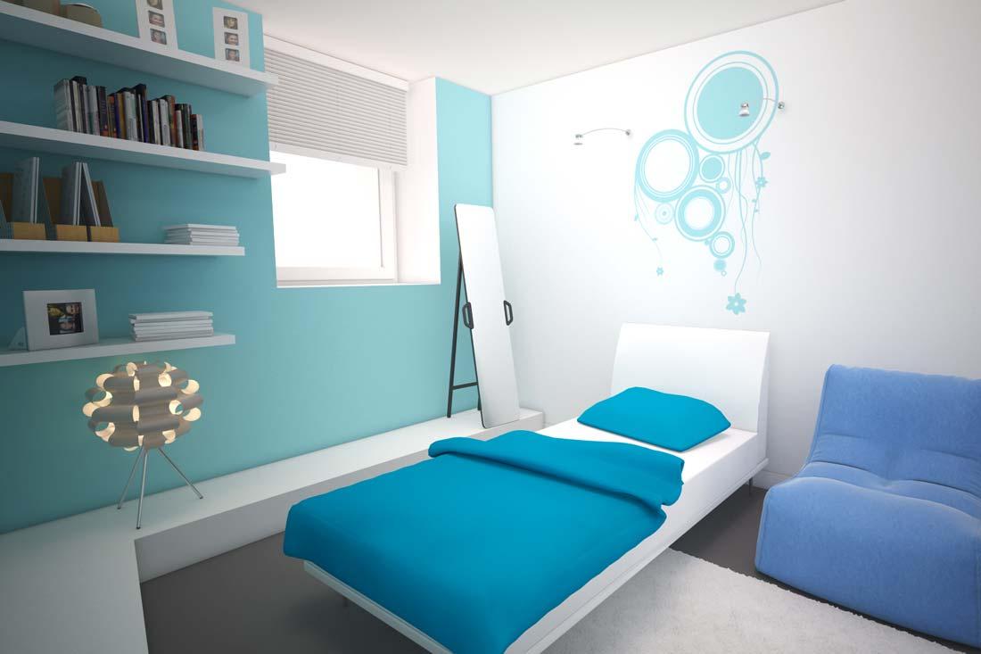 Image 3D de chambre pour promotion immobilière
