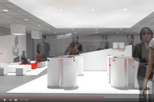 Vidéo 3D d'architecture, retail, architecture commerciale