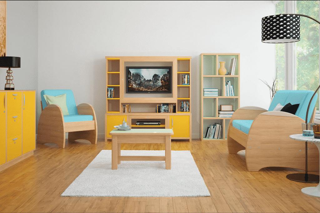 image 3D pour un catalogue de meuble