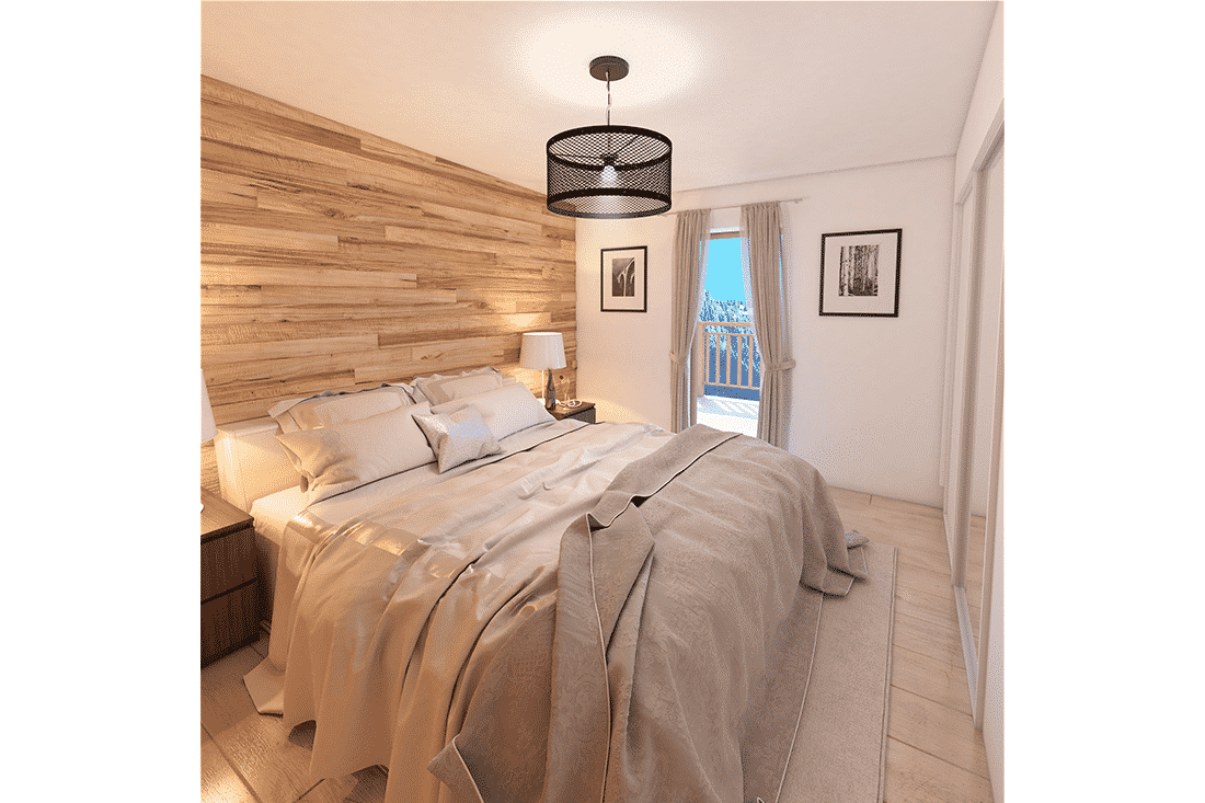 belle images 3D pour vente d'un appartement en construction