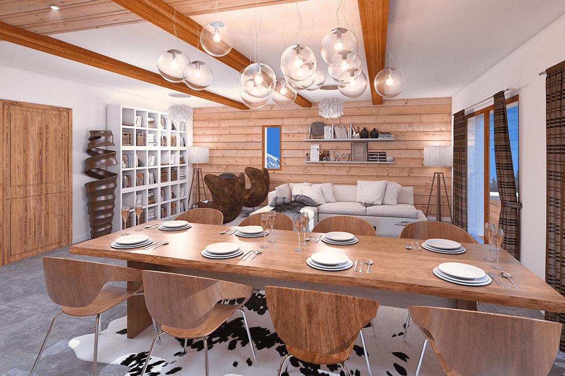 photos 3D d'un appartement pour vente sur plan