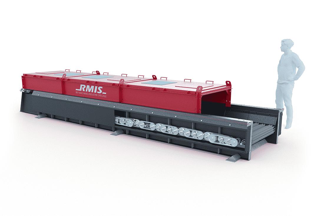 image 3D machine industrielle : R.M.I.S arbre démontable