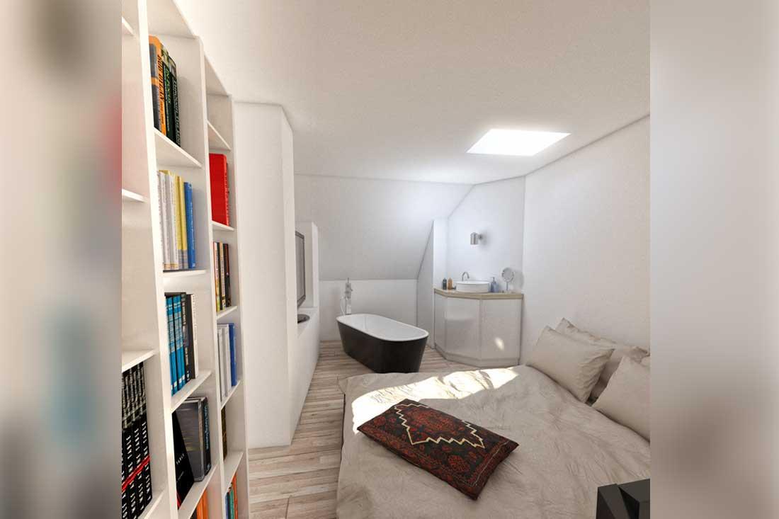 image 3d mezzanine loft