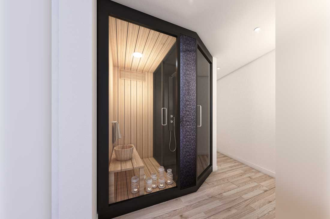 image 3d sauna loft