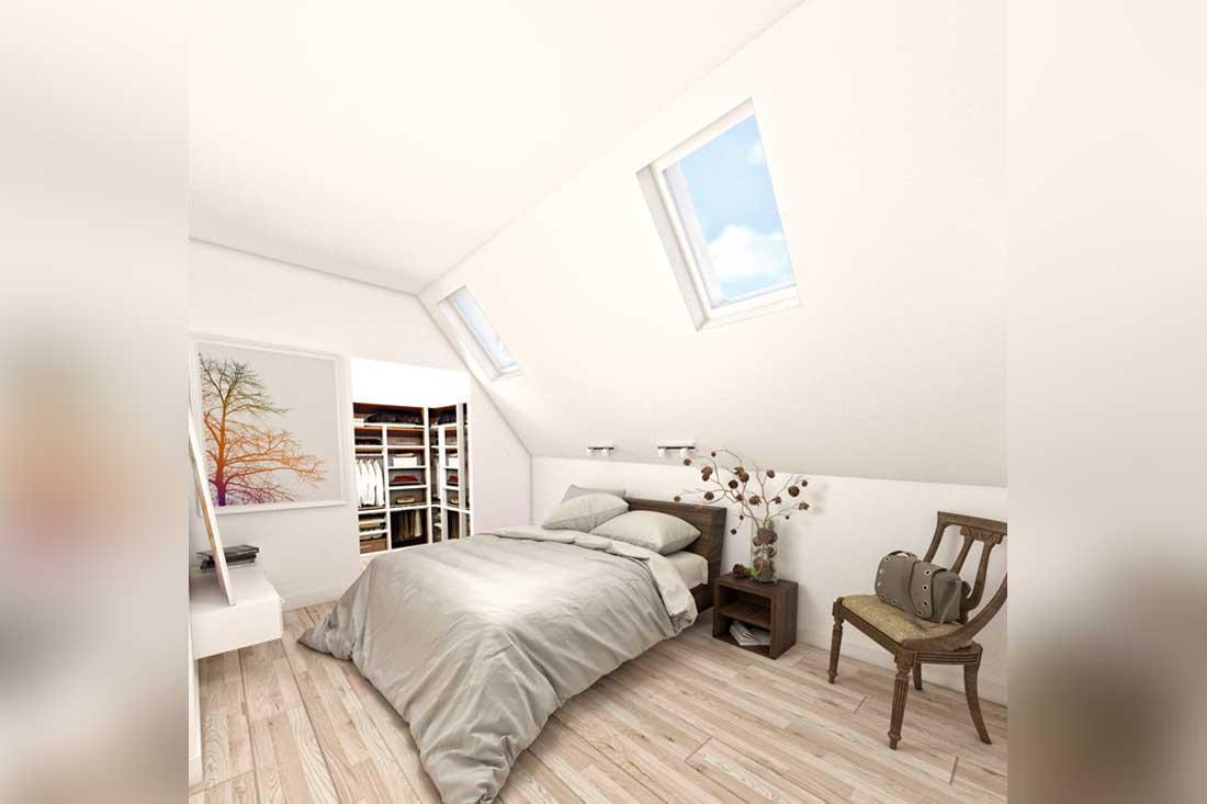 image 3d suite-parentale dressing loft